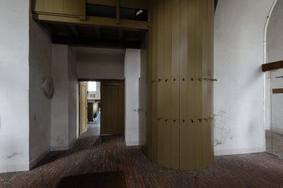 portaal van de Oude of St Victorkerk in Batenburg